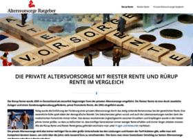ruerup-riester-rente.net