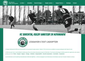rugby-club-barentin.com