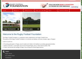 rugbyfootballfoundation.org