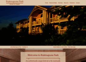 rukmapuraparkhotel.com