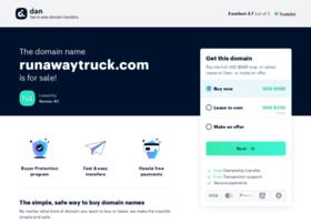 runawaytruck.com