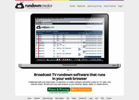 rundowncreator.com