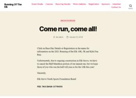 runningoftheelkhalf.com