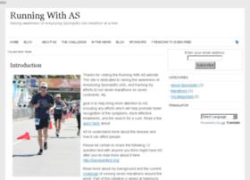 runningwithas.com