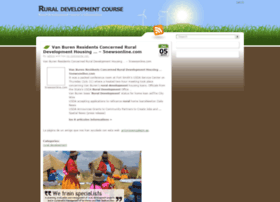 ruraldevelopmentcourse.com