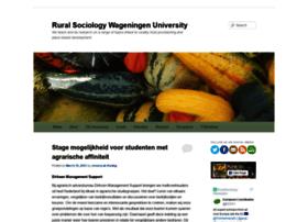 ruralsociologywageningen.nl
