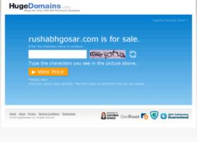 rushabhgosar.com