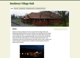 rushburyvillagehall.org
