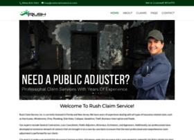 rushclaimservice.com