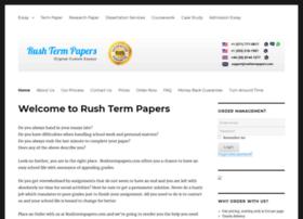rushtermpapers.com