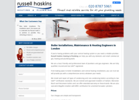 russellhaskinsplumbing.co.uk