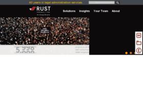 rustconsulting.com