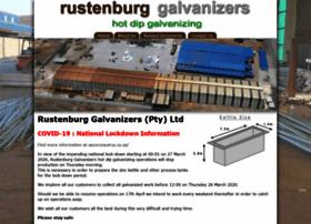 rustenburggalvanizers.co.za