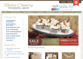 rusticcountryweddingshop.com