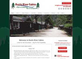 rusticrivercabins.com