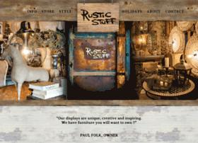 rusticstuffhome.com
