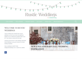 rusticweddings.com