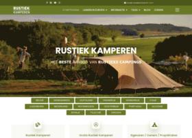 rustiekecampings.com