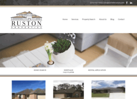rustonproperties.net