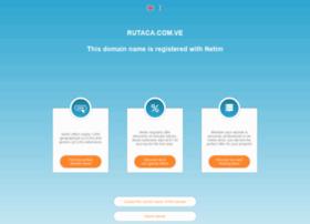rutaca.com.ve