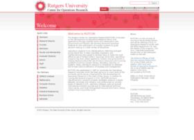 rutcor.rutgers.edu