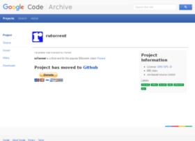 rutorrent.googlecode.com