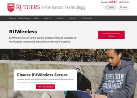 ruwireless.rutgers.edu