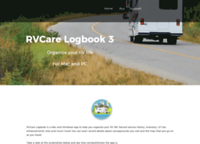 rvcarelogbook.com