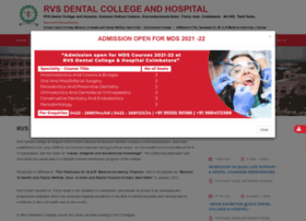 rvsdental.ac.in