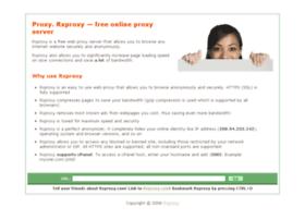 rxproxy.com