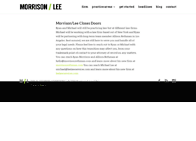 ryanmorrisonlaw.com