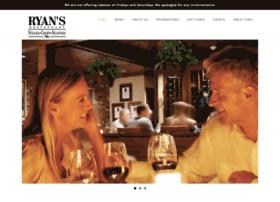 ryansrestaurant.com