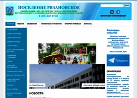 ryazanovskoe.ru
