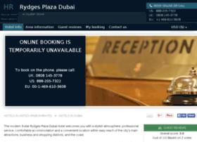 rydges-plaza-dubai.hotel-rez.com