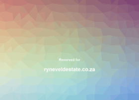 ryneveldestate.co.za