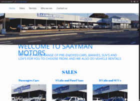 saaymanmotors.co.za