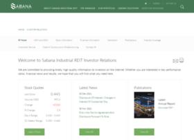 sabana.listedcompany.com