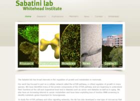 sabatinilab.wi.mit.edu