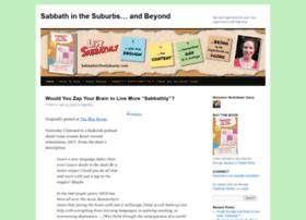 sabbathinthesuburbs.wordpress.com