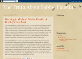 sabinefaustintruth.blogspot.com.au