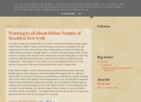 sabinefaustintruth.blogspot.se