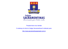 sacramentinas.com.br