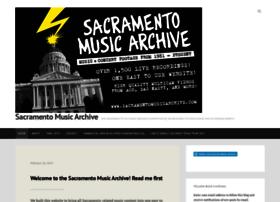 sacramentomusicarchive.com