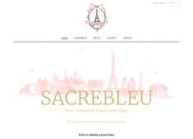 sacrebleu-paris.com