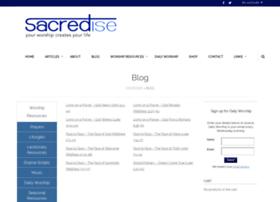 sacredise.blogspot.com