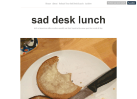 saddesklunch.com