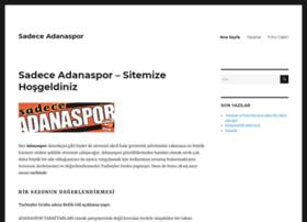 sadeceadanaspor.com