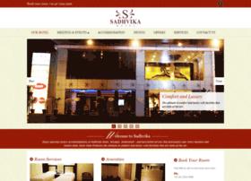 sadhvikahotel.com