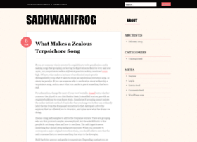 sadhwanifrog.wordpress.com