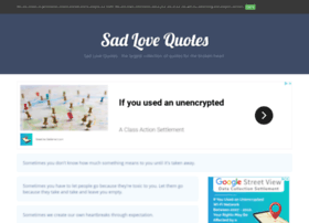 sadlovequotes.net